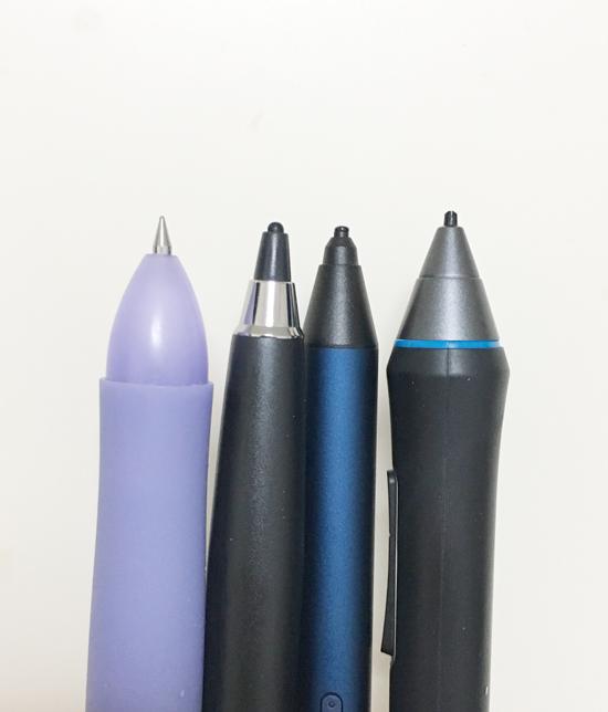 ボールペン aibow Bamboo Tip ワコムペンタブ ペン先 比較
